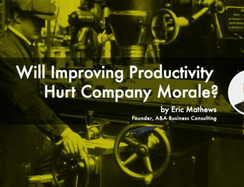 Will Improving Productivity Hurt Company Morale?