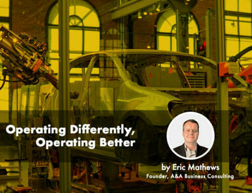 Operating Differently, Operating Better